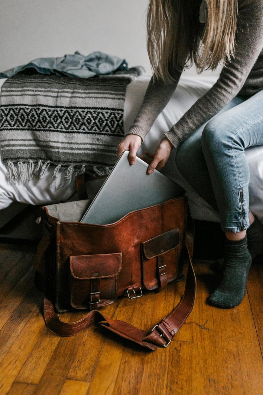 Laptop dla kobiety do torebki