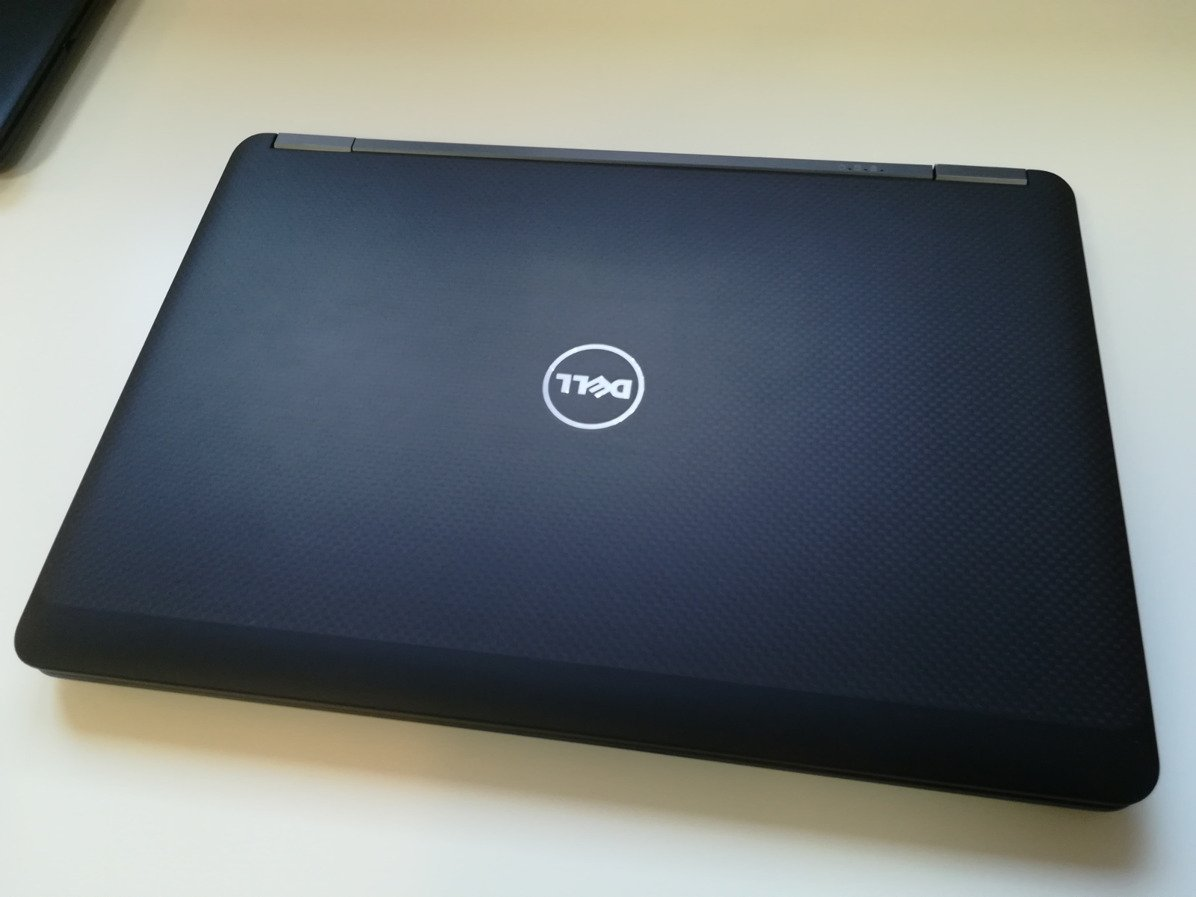 "Dell Latitude E7450 i7-5600U 8 GB 240 SSD 14"" HD W7Pro A-"