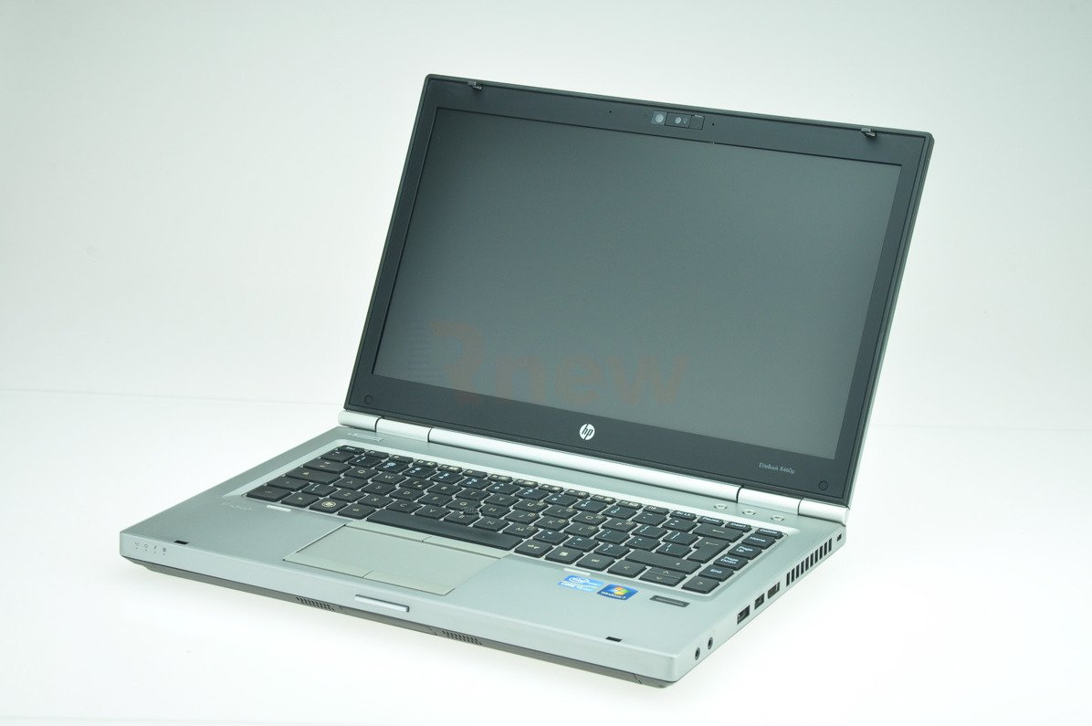 "HP EliteBook 8460p Intel Core i7-2620M 2.70 GHz 4 GB 128 GB SSD 14"" Win 7 Pro A- 15"