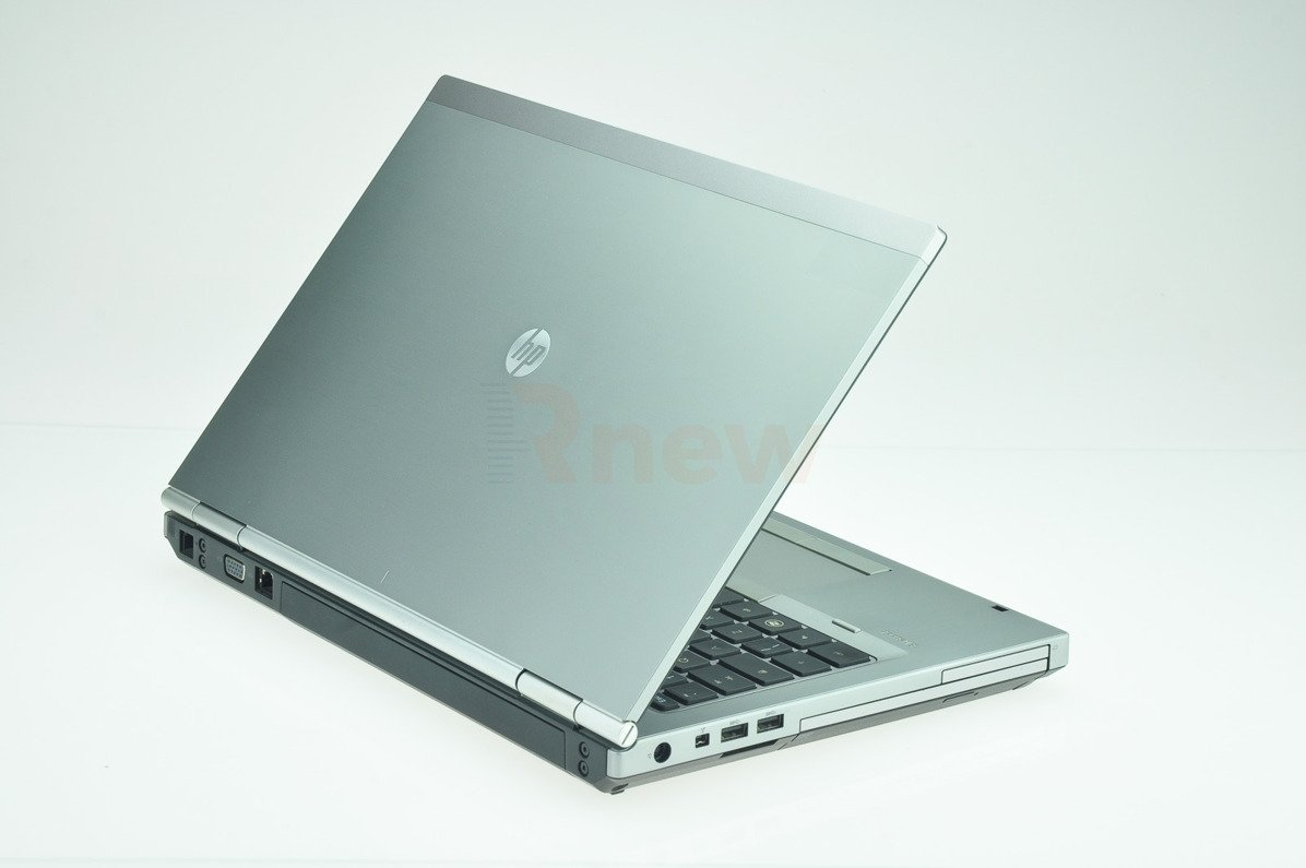 "HP EliteBook 8460p Intel Core i7-2620M 2.70 GHz 4 GB 128 GB SSD 14"" Win 7 Pro A- 01"