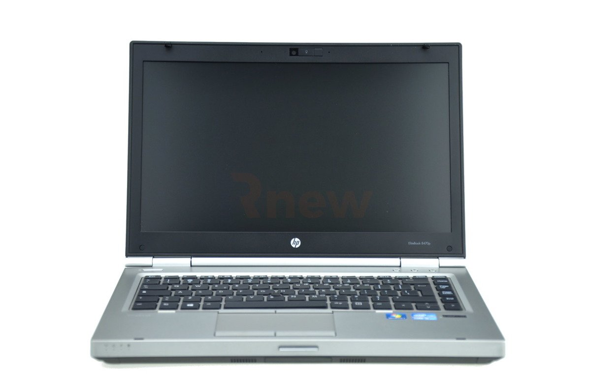 "HP EliteBook 8470p Intel Core i5-3320M 2.60 GHz 8 GB 120 GB SSD 14"" Win 7 Pro A 03"