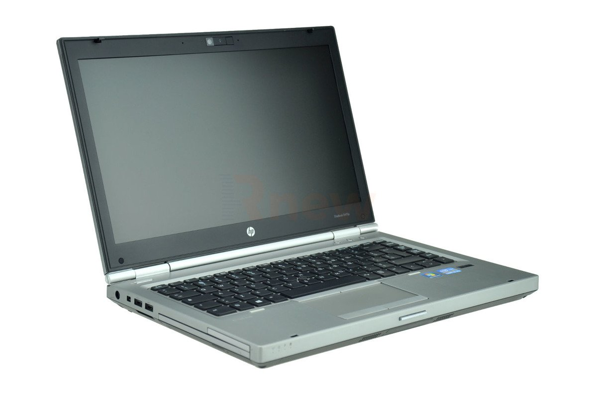 "HP EliteBook 8470p Intel Core i5-3320M 2.60 GHz 8 GB 120 GB SSD 14"" Win 7 Pro A 12"