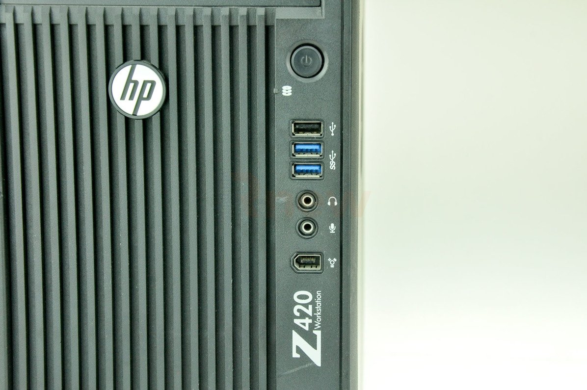 WorkStation HP Z420 Tower E5-1620 0 8 GB 500 HDD W7Pro A-