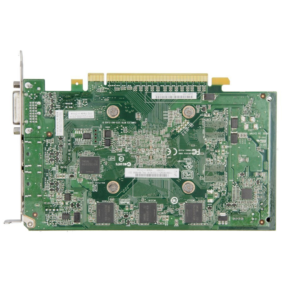 Karta graficzna nVidia QUADRO 2000 1GB DDR5 DVI DisplayPort  HIGH PROFILE 612952-003 / 612952-002