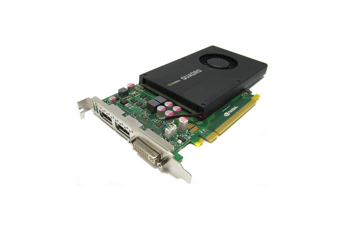 Karta graficzna nVidia QUADRO K2000 2GB DDR5 DVI DisplayPort  HIGH PROFILE