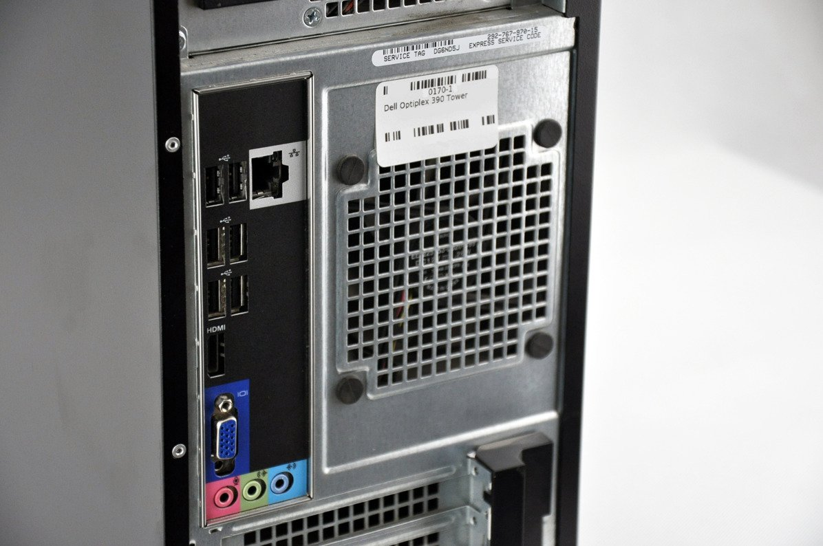 Komputer Dell OptiPlex 390 Tower i5-2400 4 GB 128 SSD W7Pro A-