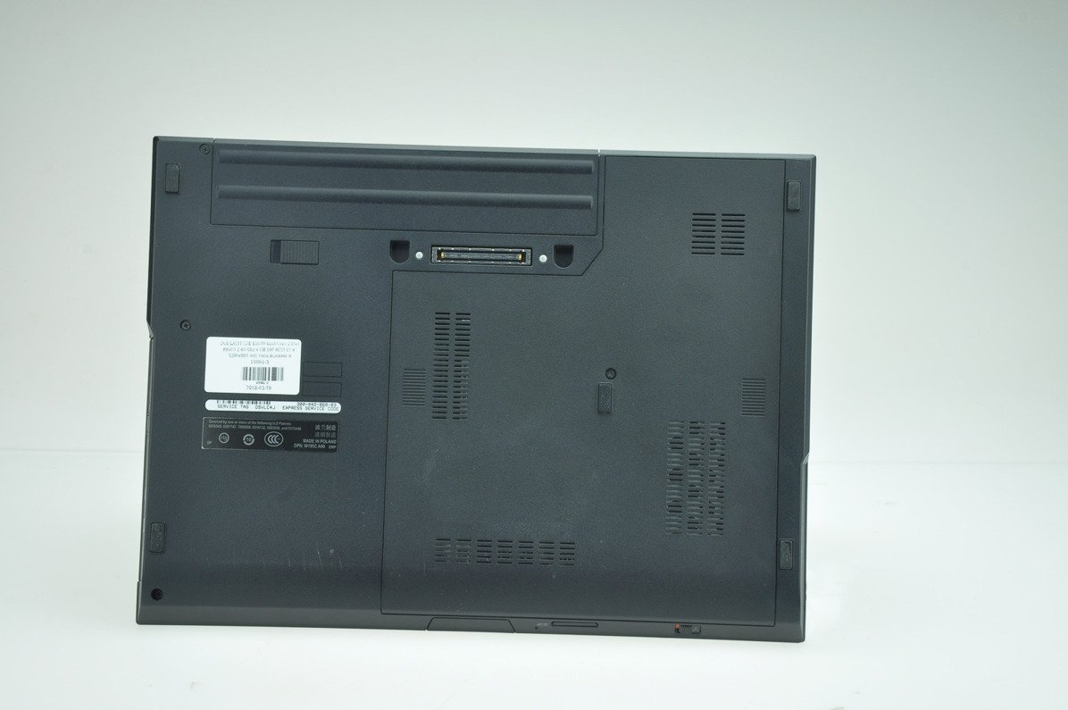 "Laptop Dell Latitude E5500 P8600 2 GB 160 HDD 15,4"" WXGA W7Pro A-"