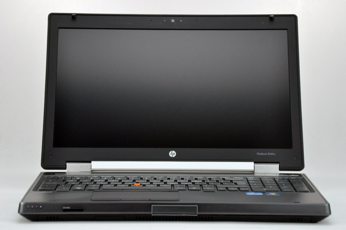 "Laptop HP EliteBook 8560w i7-2760QM 16 GB 160 SSD + 320 HDD 15,6"" FHD W7Pro B"