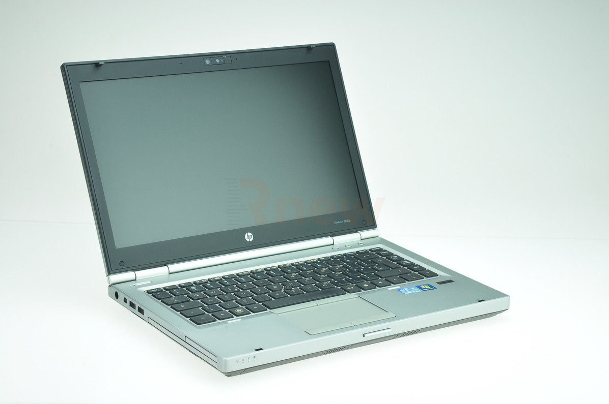 "HP EliteBook 8460p Intel Core i7-2620M 2.70 GHz 4 GB 128 GB SSD 14"" Win 7 Pro A- 16"