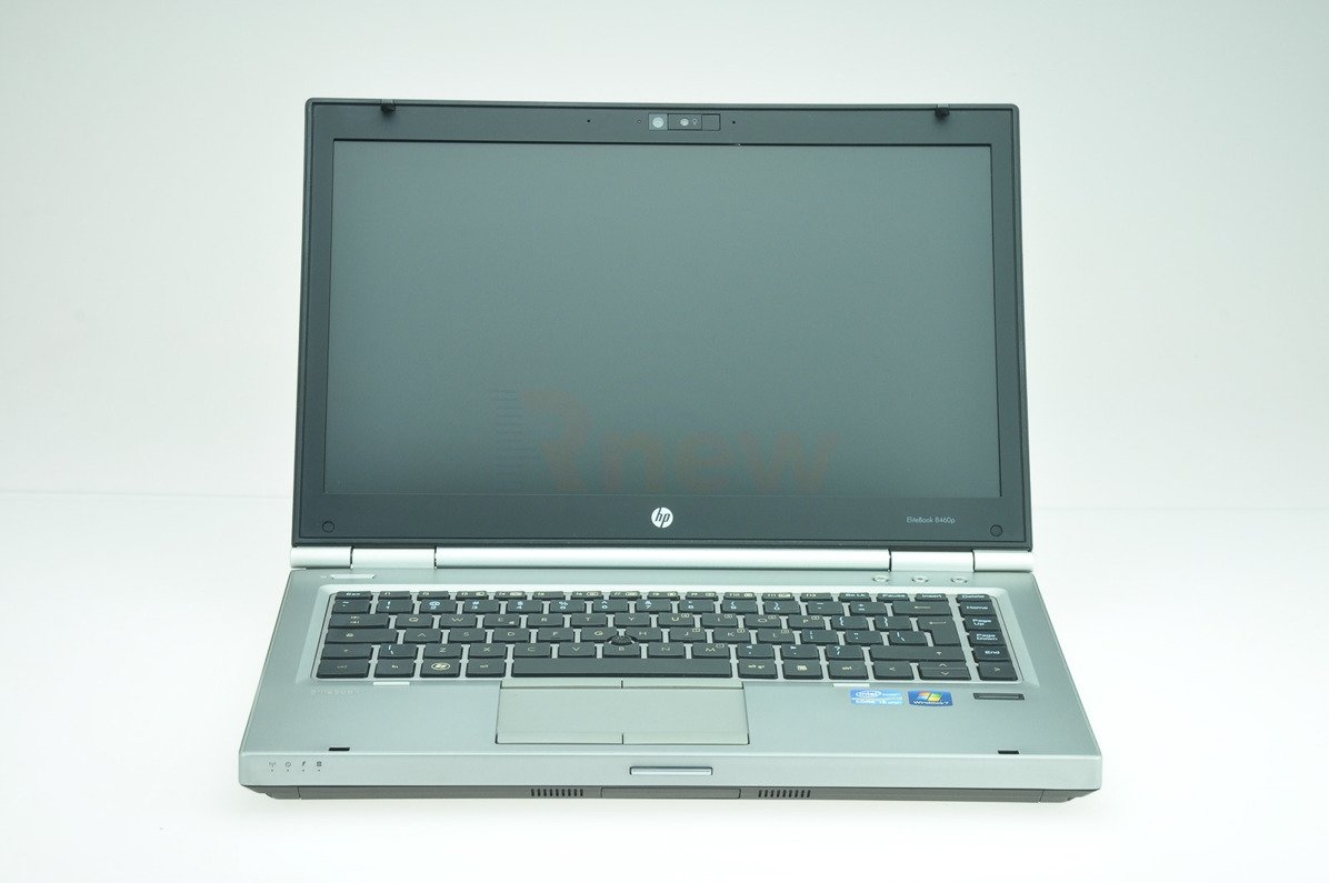 "HP EliteBook 8460p Intel Core i7-2620M 2.70 GHz 4 GB 128 GB SSD 14"" Win 7 Pro A- 17"