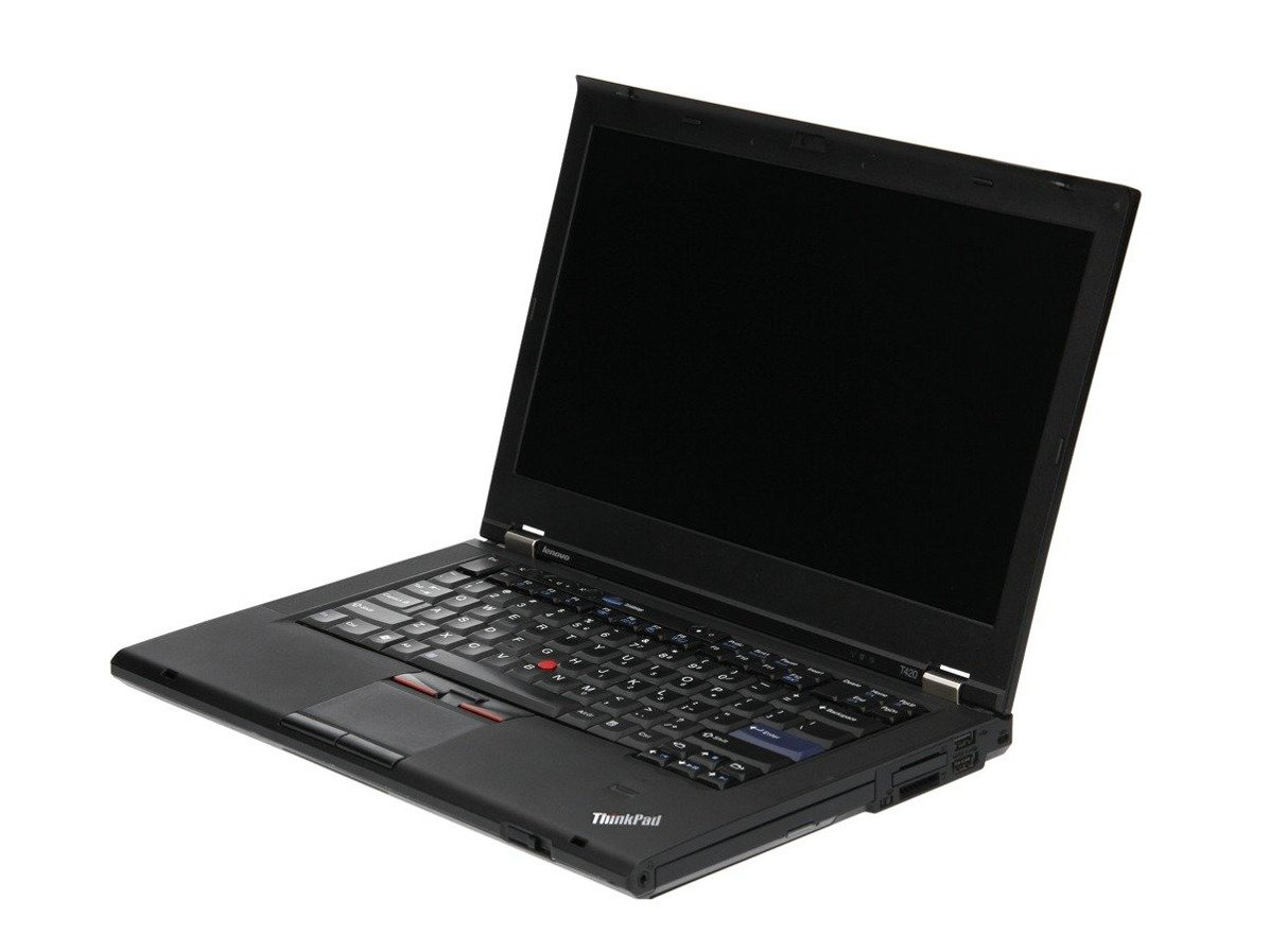 "Laptop Lenovo ThinkPad T420 i5-2520M 4 GB 320 HDD 14"" HD+ W7Pro A-"