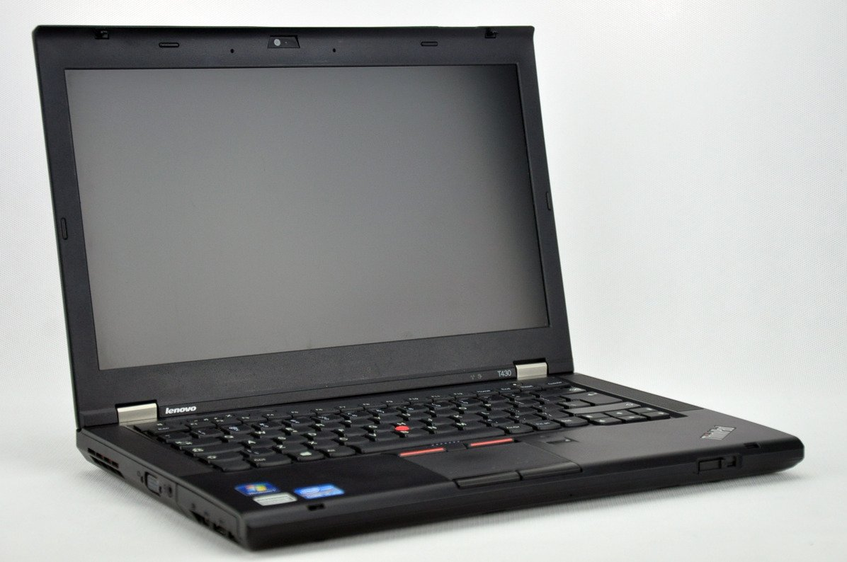 "Laptop Lenovo ThinkPad T430 i5-3320M 4 GB 320 HDD 14"" HD+ W7Pro B"