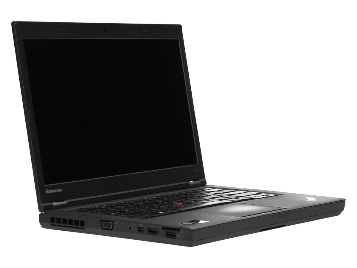 "Laptop Lenovo ThinkPad T440p i5-4300M 4 GB 500 HDD 14"" HD+ W7Pro B"