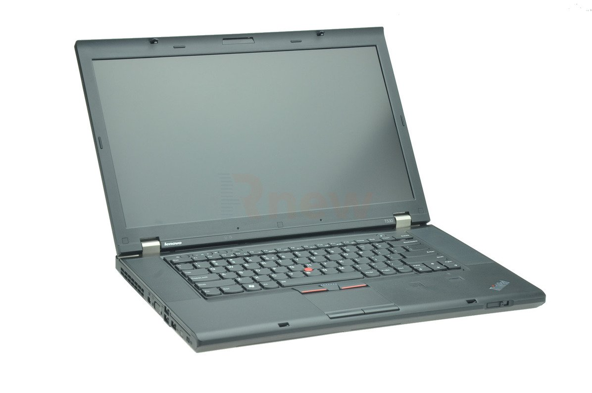 "Laptop Lenovo ThinkPad T530 i7-3520M 4 GB 320 HDD 15,6"" HD+ W7Pro A"