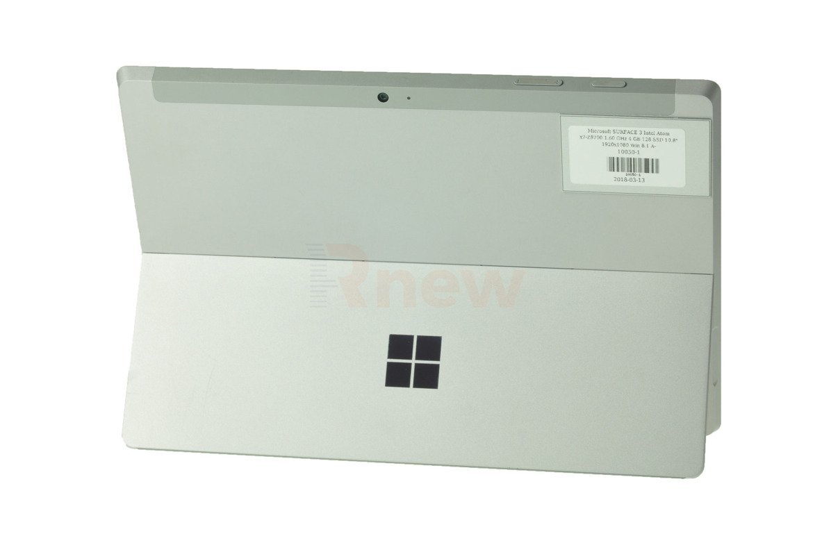 "Microsoft SURFACE 3 Intel Atom x7-Z8700 1.60 GHz 4 GB 128 SSD 10.8"" 1920x1280 Win 8.1 A-"