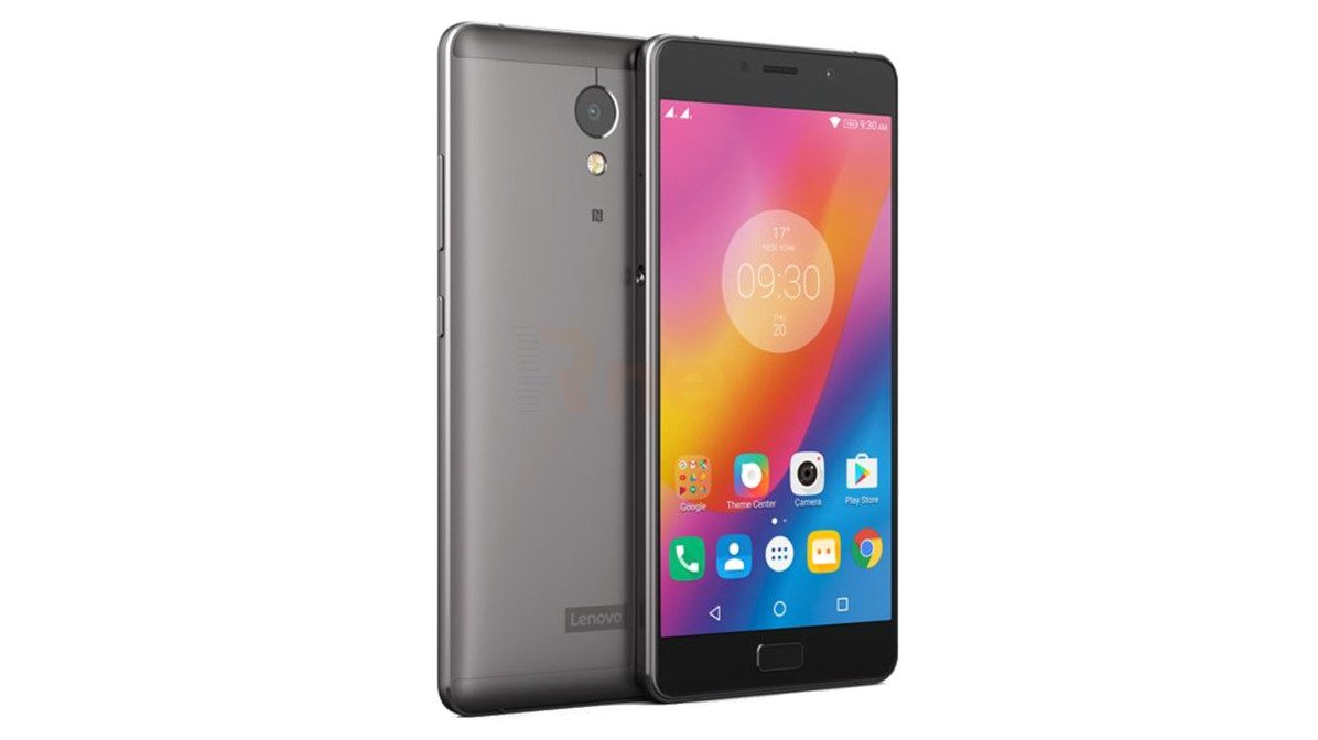 "Mobile Phone Lenovo P2 4 GB 64 FLASH 5,5"" FHD Android 7 BLACK A"
