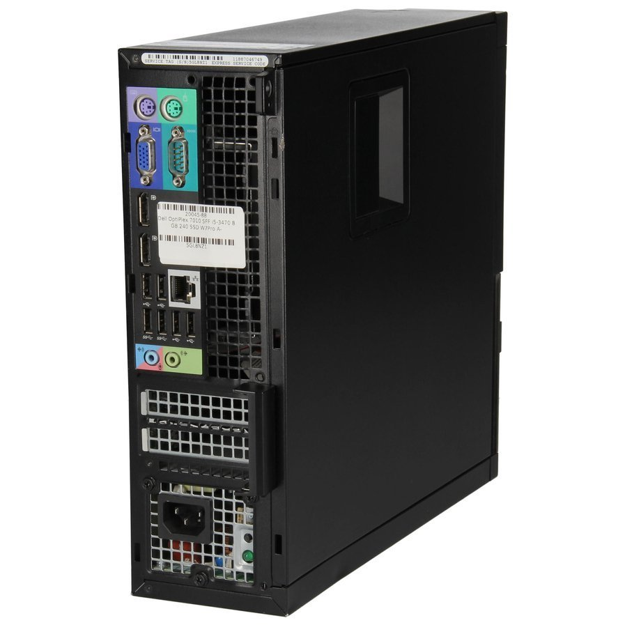 PC Dell OptiPlex 7010 SFF i5-3470 4 GB 120 SSD W7Pro A-