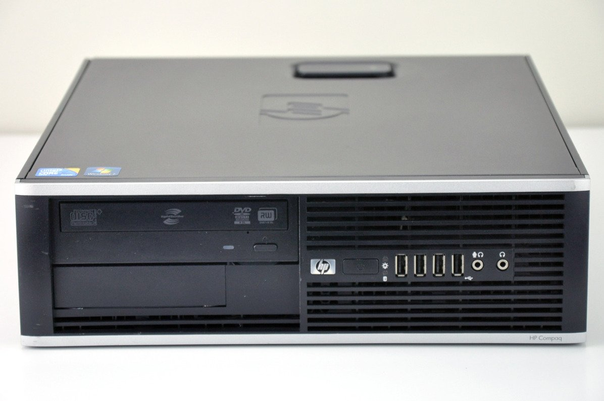 PC HP 8000 Elite SFF E8500 4 GB 250 HDD W7Pro A