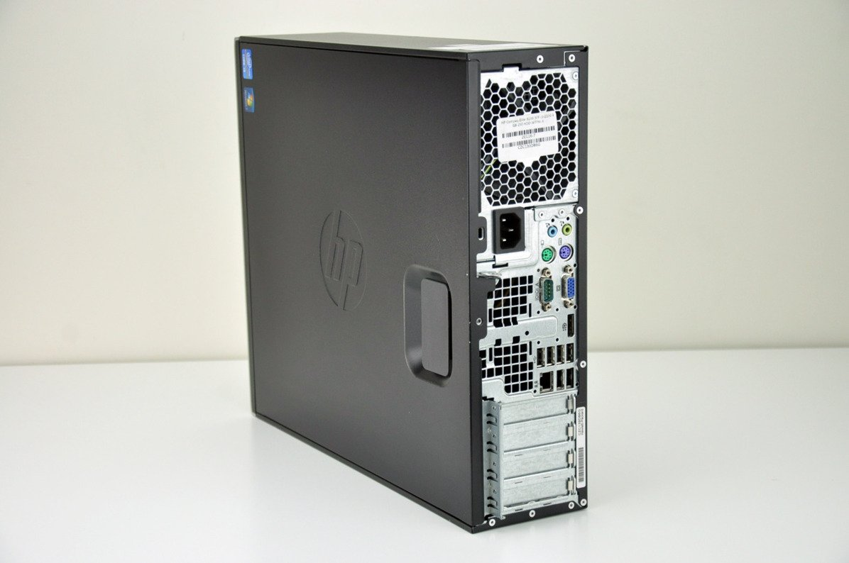 PC HP Compaq Elite 8200 SFF i3-2100 4 GB 250 HDD W7Pro A